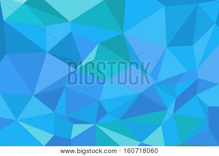 Low Poly Style Illustration Graphic Background