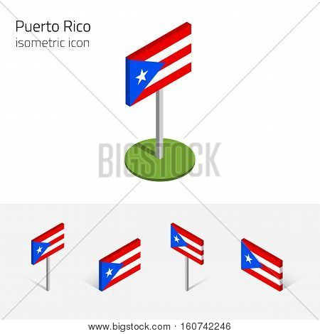 Puerto Rican Flag ( Vector & Photo (Free Trial) | Bigstock