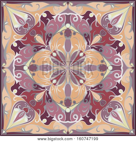 Bright Colored Handkerchief