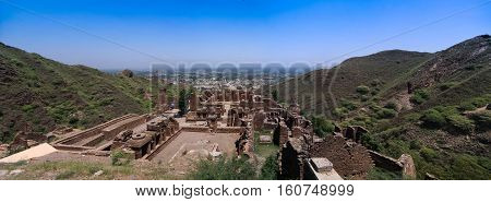 Takht-i-Bhai Parthian archaeological site and Buddhist monastery Pakistan