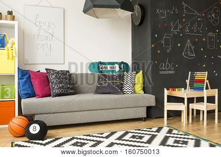 Colourful Kid's Room With Abacus