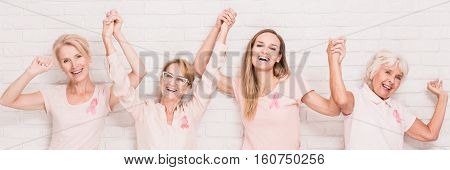 Women Holding Each Other Hands