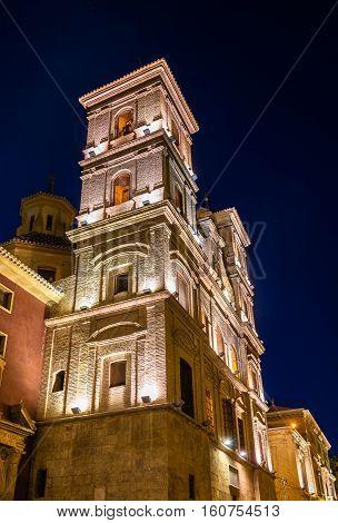 Church of Santo Domingo and Capilla del Rosario in Murcia - Spain