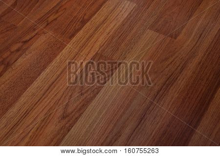 Wooden brown background with a pattern with a beautiful view of the slanting and copy space.