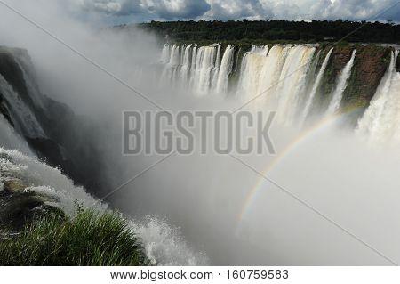 Iguazu waterfalls Garganta del Diablo, unesco world heritage