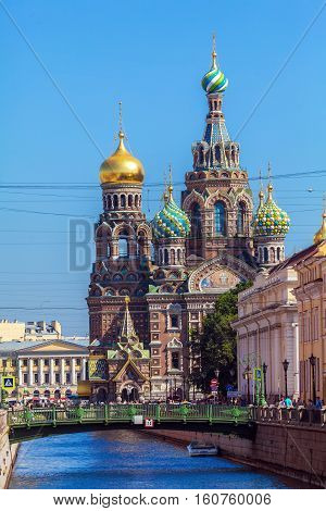 The Church Of The Savior On Spilled Blood, Saint Petersburg