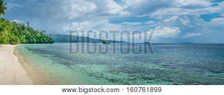 Batu Lima, near Biodiversity Resort, Gam Island, West Papuan, Raja Ampat Indonesia
