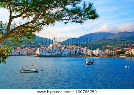 Cadaques, a small town on the Costa Brava Spain