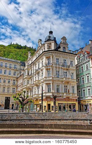 Luxury Grand Hotel Pupp And Promenade In Karlovy Vary
