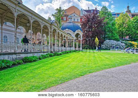 Park Colonnade Of Karlovy Vary
