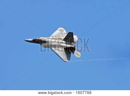 F-22 Raptor state of the art fighter jet poster