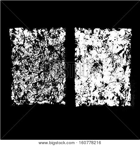 Sheets of old crumpled paper set, crumpled paper texture, vector