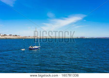 Sailboat In Charles River