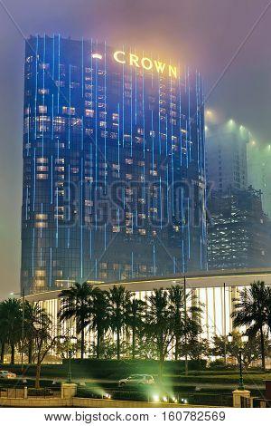 Casino And Hotel Luxury Resort In Macao China