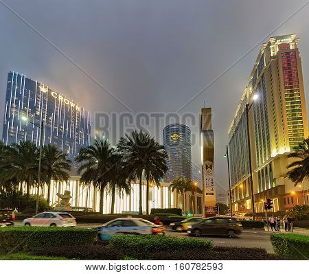 Casino And Hotel Luxury Resort In Macao In China