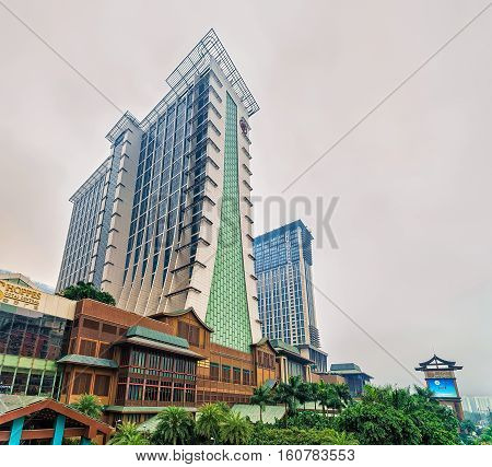 Macao Sands Cotai Central Casino Luxury Resort On Cotai Strip
