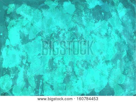 Aqua Watercolor Background