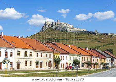 Spisske Podhradie Town And Spis Castle (spissky Hrad), Slovakia