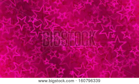 Crimson Abstract Background Of Small Stars