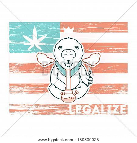 Vector Poster - Just Legalize 12