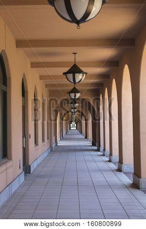 Liberty Station Market Place near Downtown San Diego California