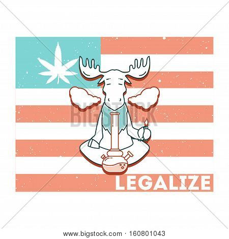 Vector Poster - Just Legalize 5