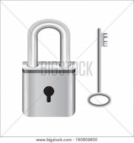 steel master key lock and steel key