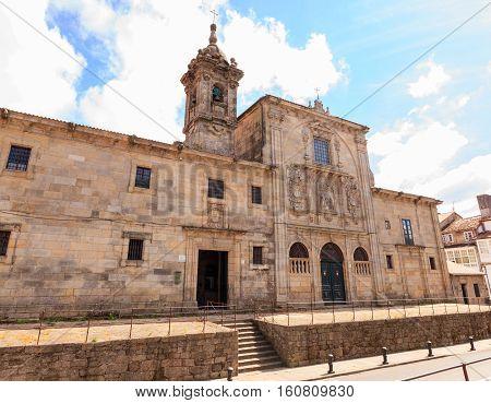 Convent and church of de Las Mercedarias Descalzas Santiago de Compostela