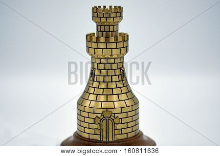 Metal Chess Tower