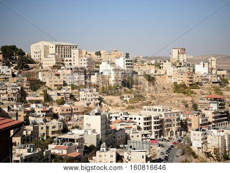 View Of The City Of Bethlehem, Palestine