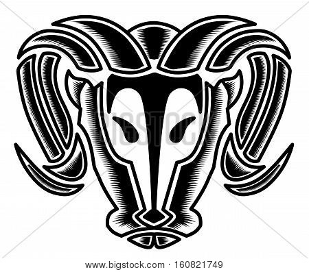 Bulls head, bulls vector, bulls head vector