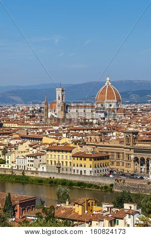 View Of Florence's Historic Center