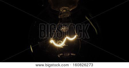 Tungsten Filament Wire Of Incandescent Light Bulb