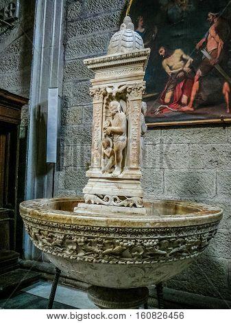 Hdr San Lorenzo Cathedral In Viterbo