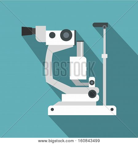 Refractometer icon. Flat illustration of refractometer vector icon for web