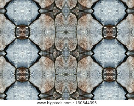 Stone wall background pattern. Old paving stones pattern.