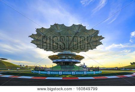 Sepang International Circuit (sic) Malaysia