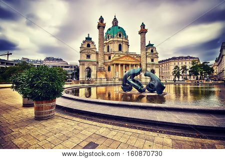 St. Charles's Church, Karlskirche In Vienna, Austria. Instagram