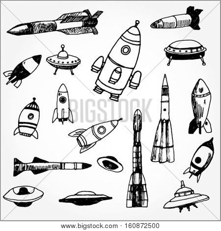 Space Ships and Rockets