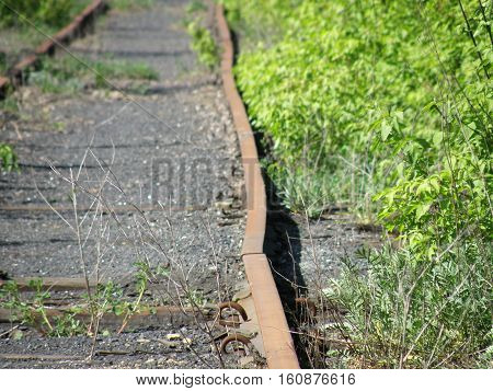 The plot is an old abandoned railway.