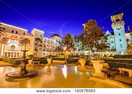 St. Augustine, Florida, USA.