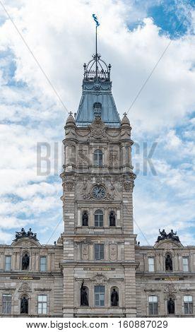 Parliament Building of Quebec in Quebec City Quebec Canada