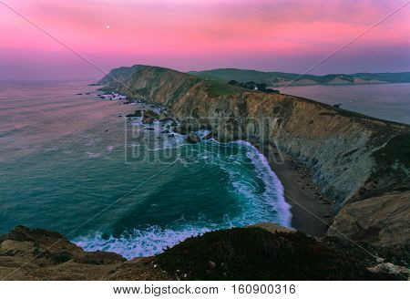 The Pacific Coast is a stretch of coastal highway in Calfornia.