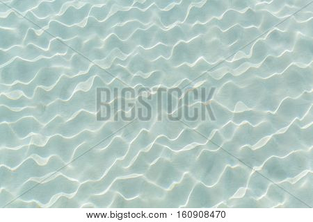 Closeup amazing detailed beautiful view of crystal clear natural sea water background