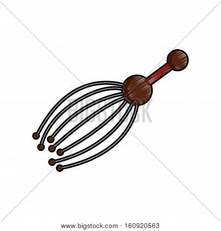 massage accessory icon image vector illustration design
