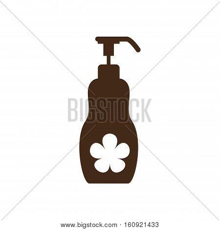 lotion dispenser icon image vector illustration design