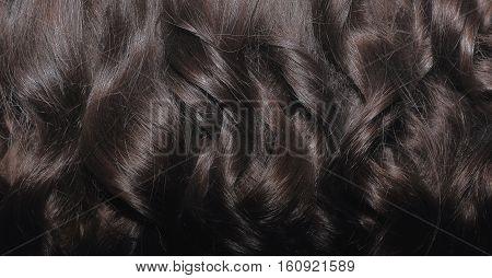 Black hair closeup. Black hair locks backdrop.