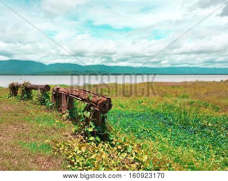 Scenic landscapes, offering lake Phayao Province, Thailand.