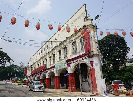 Old Buildings At George Town In Penang