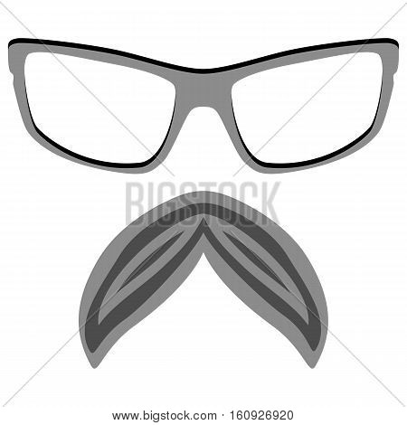 Hipster Nerd Glasses Vector & Photo (Free Trial) | Bigstock